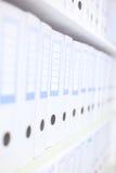 офис скоросшивателей бухгалтера Стоковое фото RF