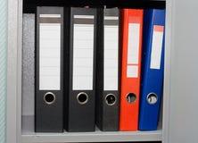 офис скоросшивателей Стоковая Фотография RF