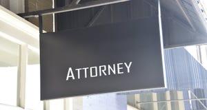 Офис советника адвокатов выступающих в суде первой инстанции юриста законный стоковое фото