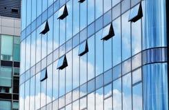 офис стекла дела здания зодчества Стоковое Изображение RF