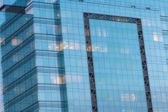 офис стекла фасада здания Стоковая Фотография