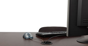 офис стола пустой Стоковые Изображения