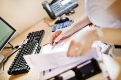 офис стола Стоковые Изображения RF