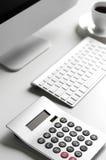 офис стола принципиальной схемы дела бухгалтерии Стоковые Изображения RF