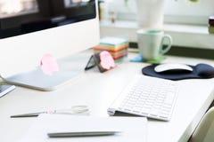 офис стола принципиальной схемы дела бухгалтерии Стоковое фото RF