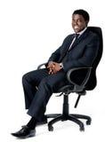 офис стула бизнесмена Стоковое Фото