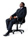офис стула бизнесмена Стоковая Фотография