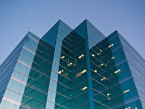 офис сумрака здания Стоковое Фото