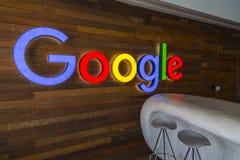 Офис Тель-Авив Google, Израиль стоковое изображение