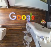 Офис Тель-Авив Google, Израиль стоковые изображения