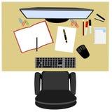 Офис, успех в бизнесе, работа команды, самая лучшая иллюстрация 3D Стоковое Фото