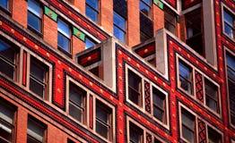 офис цвета здания multi стоковое фото rf