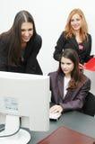 офис девушок Стоковые Изображения RF