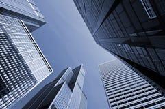 офис chicago зданий самомоднейший Стоковое Изображение