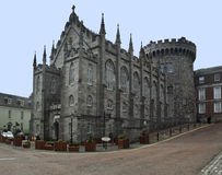 офис dublin конца замока bedford genelogical возвышается вверх Стоковые Фото