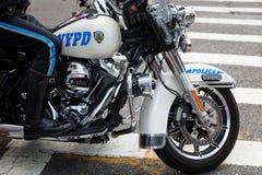 Офицеры NYPD на мотоциклах Стоковая Фотография RF