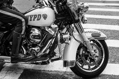 Офицеры NYPD на мотоциклах Стоковые Изображения RF