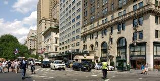 Офицер движения NYPD, Нью-Йорк, NYC, NY, США Стоковое Фото