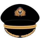 Офицер крышки военно-морского флота Великобритании Стоковое Изображение RF