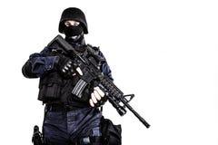 Офицер СВАТ стоковые фото