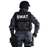 Офицер СВАТ стоковая фотография rf