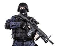 Офицер СВАТ Стоковое Изображение RF