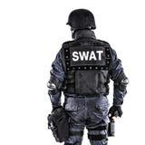 Офицер СВАТ стоковое фото rf