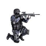 Офицер СВАТ стоковое изображение