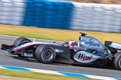 Официальная встреча Формула-1, 2005 Стоковые Фотографии RF