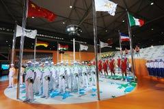 официальное universiade формы стойки 361 2011 Стоковое фото RF