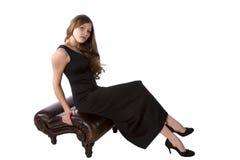 официально стенда черное коричневое Стоковые Фотографии RF