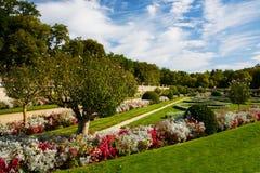 официально французский сад стоковое изображение rf