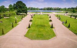Официальные сады в землях дворца Kensington, Лондона стоковое фото