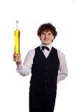 официантка масла бутылки прованская ся Стоковая Фотография RF