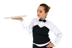 официантка Стоковое фото RF
