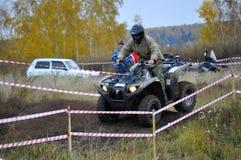 Официальное заключение сезона управлять на ATVs случилось в Ty Стоковая Фотография