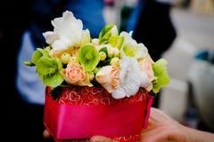 Официально цветочная композиция Стоковое Изображение