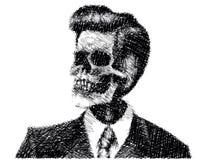 Официально череп Стоковые Фото