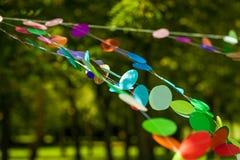 Оформление партии радуги живое Стоковые Изображения RF