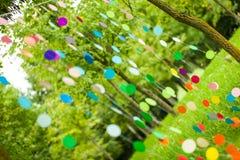 Оформление партии радуги живое Стоковое Изображение