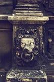 Оформление элемента на старом доме Стоковое Изображение