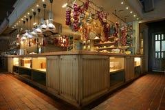 Оформление бара в деревенском стиле Стоковые Фотографии RF