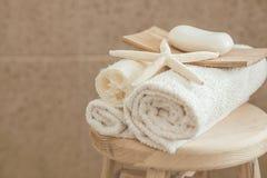 Оформление ванной комнаты Стоковое Фото