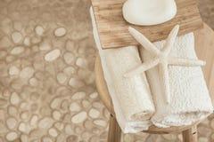 Оформление ванной комнаты Стоковые Фото