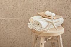 Оформление ванной комнаты Стоковые Изображения RF