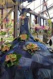 Оформление и кукла Calla lilly floristic в парнике цветка в Ke Стоковые Изображения