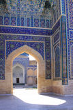 Оформление мавзолея эмира Узбекистана Самарканда Gur-e стоковые фото