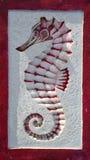 Оформление морского конька домашнее Стоковое Изображение RF