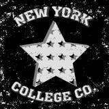 Оформление Нью-Йорка иллюстрация вектора