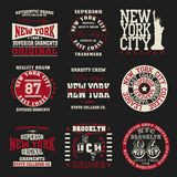 Оформление Нью-Йорка Стоковое фото RF
